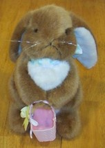 "1991 Dakin NICE EASTER BUNNY RABBIT 11"" Stuffed Animal - $15.35"