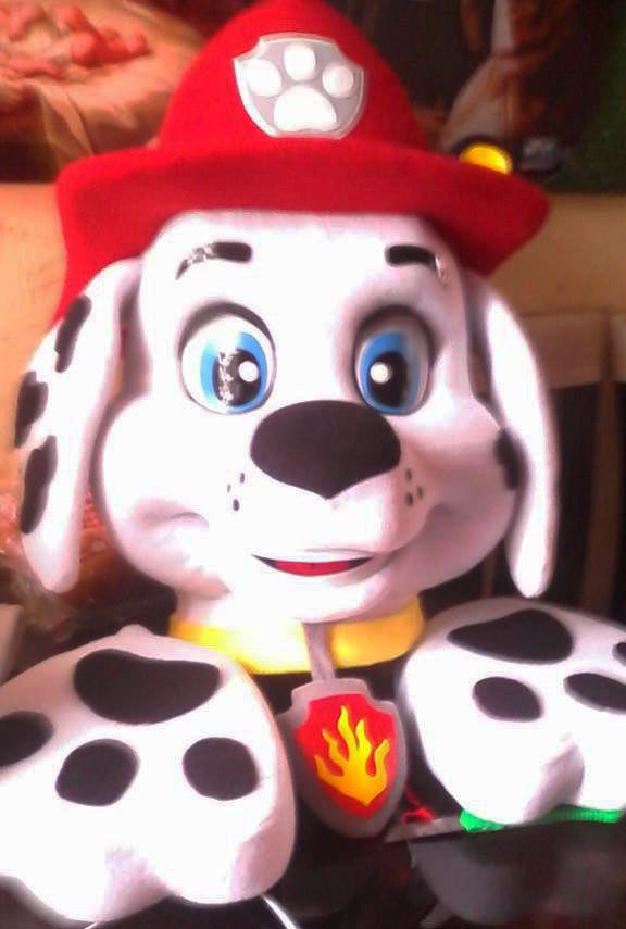Paw Patrol Marshall Mascot Costume Adult Costume For Sale
