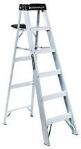 6-Ft. Step Ladder, Aluminum, Type 1A, 300-Lb. Duty Rating - $118.79