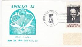 APOLLO 12 SPLASHDOWN PATRICK AIR FORCE BASE FL NOV. 24 1969 RUBBER STAMP... - $1.78