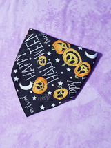 Halloween Pumpkin Pet Bandana, Dog bandanas, Cat bandanas, Pet gifts - $13.60