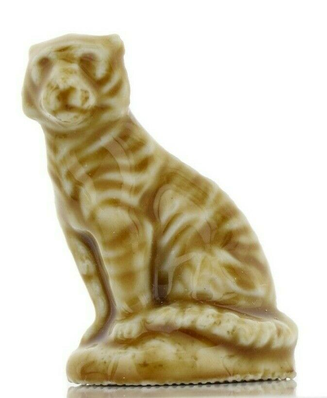 Tiger Miniature Porcelain Animal Figurine - Whimsies by Wade