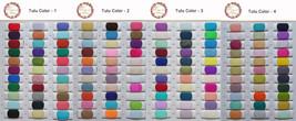Adult RAINBOW Tulle Skirt Multi Colored Long Rainbow Tutu Skirts Plus Size  image 8