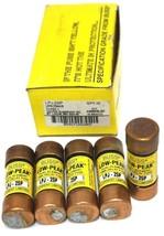 BOX OF 5 NEW COOPER BUSSMANN LPJ-2SP LOW-PEAK DUAL ELEMENT FUSES LPJ2SP