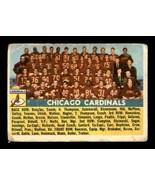 VINTAGE NFL 1956 Topps #22 Chicago Cardinals SP G/VG - $24.08
