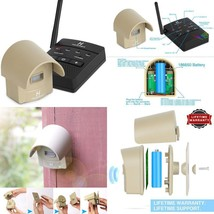 1/4 Mile Hosmart Rechargable Driveway Alarm Wireless Sensor System  Driv... - $73.47
