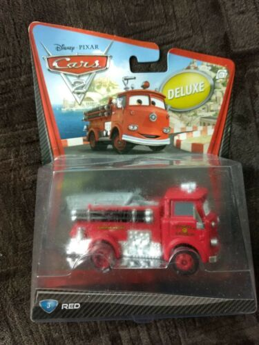 Sealed 2010 Mattel Pixar Disney Cars RED THE FIRETRUCK deluxe you figure