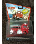 Sealed 2010 Mattel Pixar Disney Cars RED THE FIRETRUCK deluxe you figure  - $24.77