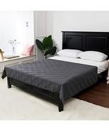 Viki Weighted Blanktet 15 lbs for Adults | 48''x72'' | Dark Grey | Enjoy... - $46.59