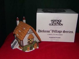 Dept 56 Dickens Village Series Lomas Ltd.Molasses Shop ~ MINT in box - $11.76
