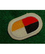 3rd SPECIAL FORCES GROUP (AIRBORNE), PARACHUTIST OVAL, SOLID WHITE BORDER - $7.87