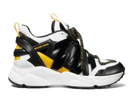 Michael Kors MK Women's Hero Trainer Leather Sneakers Shoes image 2