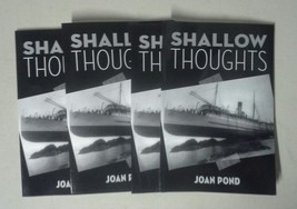 NEW Shallow Thoughts by Joan Pond Paperback Book (English) Free Shipping - $14.95