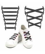 Siaomo No Tie Shoelaces for Adults and Kids Flat Lazy Tieless Shoelaces ... - $8.18