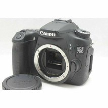 Canon EOS 70D 20.2MP Digital SLR Camera Black Body Japan W/Battery Charger FedEx - $399.71