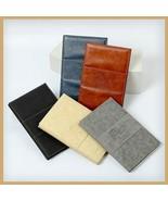 Nail Display PU Leather Chart Book Nail Art UV Gel Polish Fake Tip Chart... - $30.30