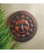 HAPPY SUN Wall Plaque Garden Stone Indoor or Outdoor Decor  - $17.60