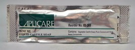 Aplicare Travel Size Liquid Castile Soap ~ 10 Packets  - $13.09