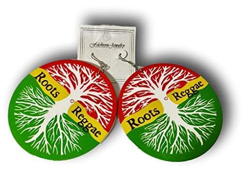 Primary image for Keleafrica Afrocentric Roots Reggae Wooden Earrings