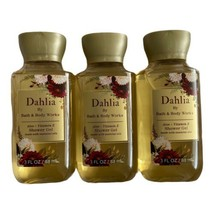 (3) Dahlia Bath & Body Works Travel Shower Gel - 3oz - $12.95