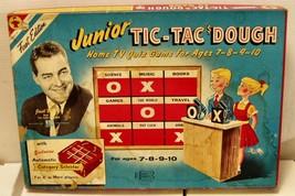 1950-60's Jr Tic Tac Dough TV Quiz game (Transogram) complete, looks unu... - $25.73