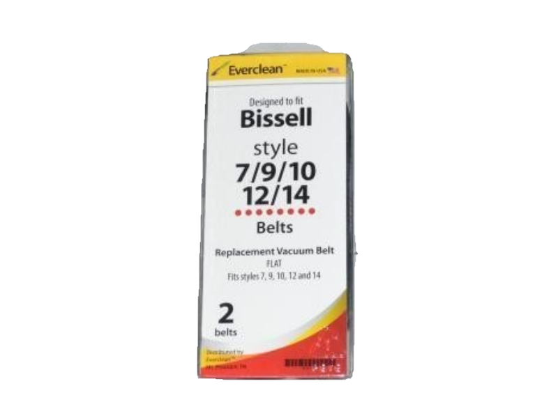 Bissell Style 7 9 10 12 14 Cleaner Belt Everclean Made in USA 32074 [4 Belts] - $6.62