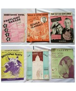 Vintage Sheet Music 1930s Musicals Productions Lot of 6 Songs - $27.89