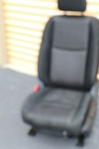 17-18 Nissan Rogue Front Left Driver Manual Seat - Black