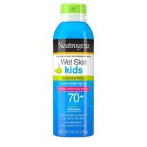 Neutrogena Wet Skin Kids Sunscreen Spray Mist, Water-Resistant and Oil - $19.00