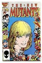 THE NEW MUTANTS #45-Marvel anniversary border issue - $22.70