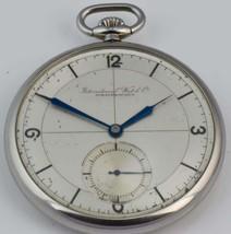 One of a kind antique pilot's award IWC Schaffhausen CHRONOMETER enamel ... - $4,200.00