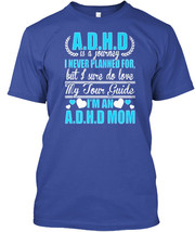 Adhd Mom Is A Journey - D H I Never Planned For But Gildan Tee T-Shirt C... - $19.50