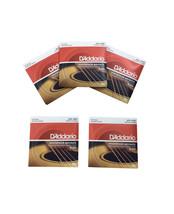 D'Addario Guitar Strings 5-Pack 12 String 12-52 Phosphor Bronze - $60.98