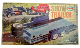 1963 Aurora Hot Rod Show Trailer Plastic Model Kit Car Hauler - $89.95