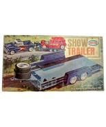 1963 Aurora Hot Rod Show Trailer Plastic Model Kit Car Hauler - $89.95
