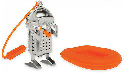 Scuba Diver Tea Infuser With Raft Drip Tray image 1