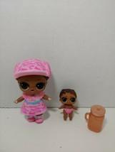 LOL Surprise Doll Secret Agent Big Sister Lil Agent set lot - $14.84