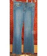 Donna Karen DKNY JEANS faded denim jeans juniors size 7 (T21-02C6G) - $2.57