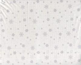 Ralph Lauren Gray Snowflakes on White Sheet Set Queen - $108.00