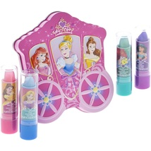 Disney Princess 4 Pack Lip Gloss with Carraige Inspired Storage Case - $39.66