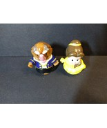 Fisher Price Little People Beauty And The Beast Figures Belle Beast Disn... - $17.81