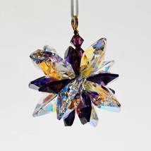 Aurora Borealis Crystal Snowflake Ornament image 5