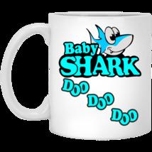 Baby Shark Babyshark Doo Dooo Doo White Mug Water Milk Coffee Mug Cup - $11.39+
