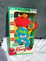 New Box Vintage Teach Me Elmo Original 90's 1996 Tyco Plush Doll Sesame ... - $38.61
