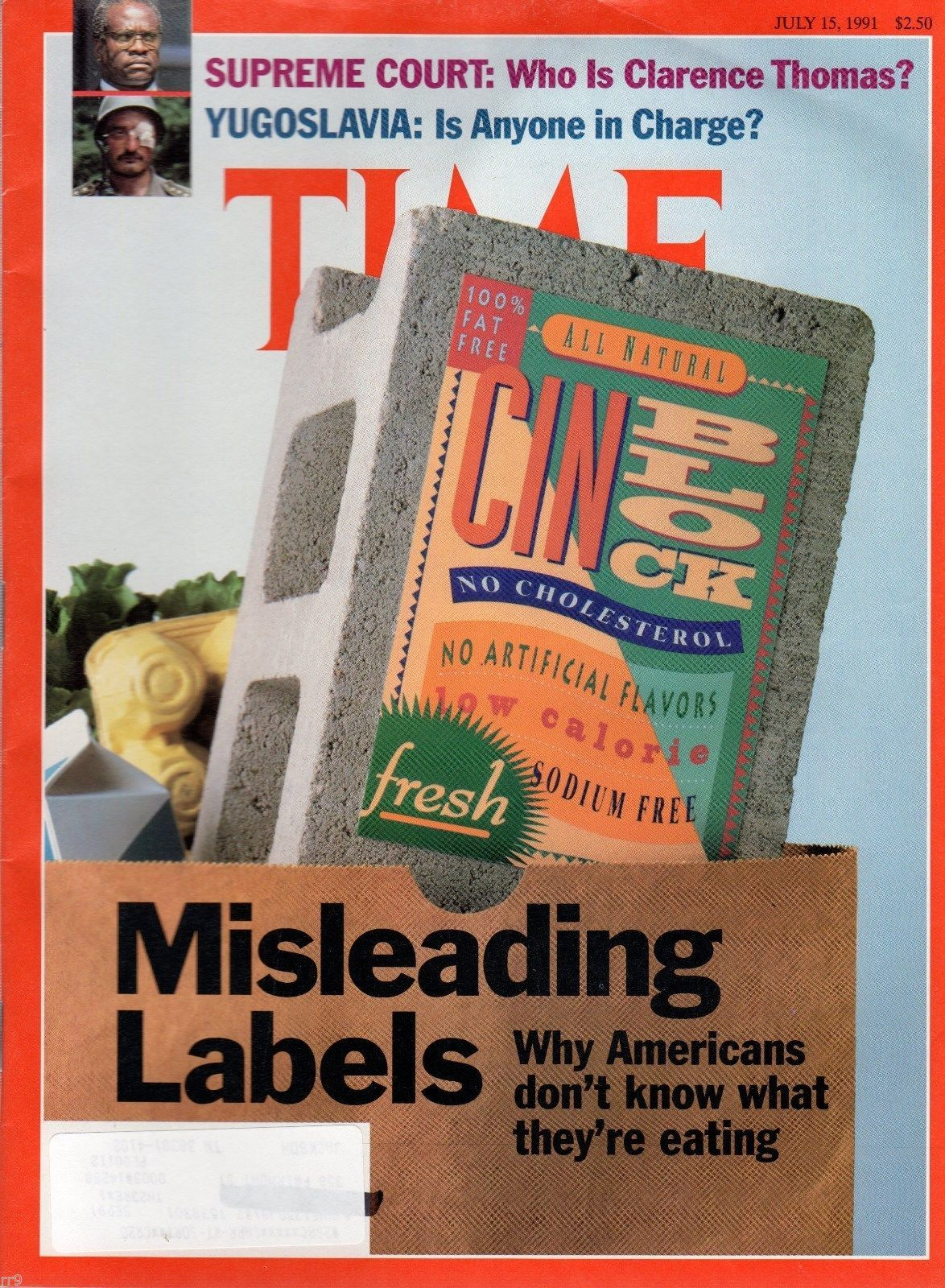 Primary image for Time Magazine - July 15, 1991