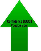 Confidence BOOST Voodoo Spell ((BE BRAVE))  haunted - $24.99