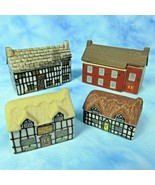 WADE England Lot 4 Whimsey On Why Village Manor Stag Hotel Pump Cottage Why Knot - $39.55