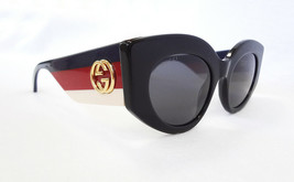 GUCCI Women's Sunglasses GG0275S 001 Black 50-22-145 MADE IN ITALY - New! - $255.00
