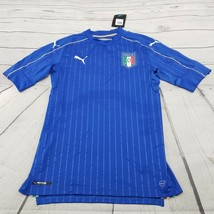 Puma Jersey Size Large Mens Athletic Figc Italia Home Authentic New $175. MSRP.. - $76.62