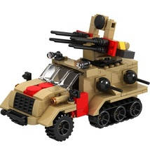Weapon Car Military Army World War Fit Lego War Building Block Toy Chris... - $24.99